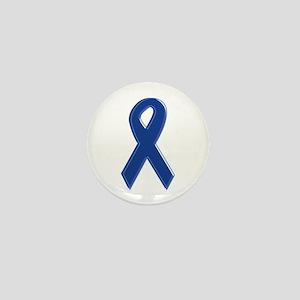 Dk Blue Awareness Ribbon Mini Button
