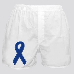 Dk Blue Awareness Ribbon Boxer Shorts