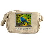 Indigo Bunting Messenger Bag