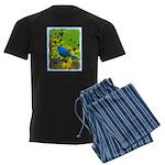 Indigo Bunting Men's Dark Pajamas