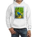 Indigo Bunting Hooded Sweatshirt