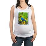 Indigo Bunting Maternity Tank Top