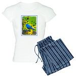 Indigo Bunting Women's Light Pajamas