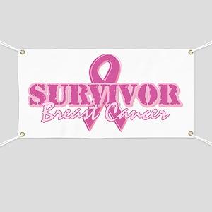 Survivor Breast Cancer Banner