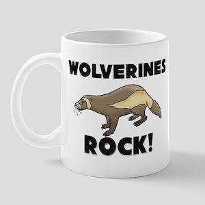 Wolverines Rock! Mug