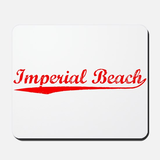 Vintage Imperial B.. (Red) Mousepad