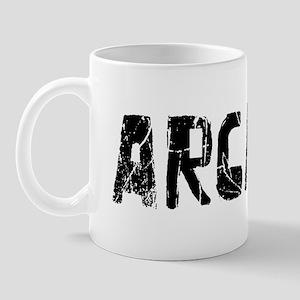 Arcadia Faded (Black) Mug