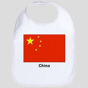 China Chinese Flag Bib