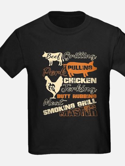 Meat Smoking Girl Master T Shirt T-Shirt