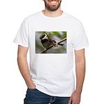 Chickadee White T-Shirt