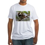 Chickadee Fitted T-Shirt