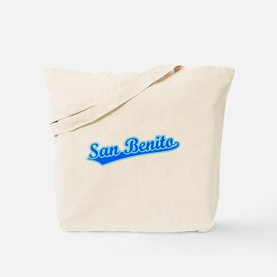 Retro San Benito (Blue) Tote Bag