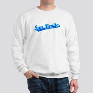Retro San Benito (Blue) Sweatshirt