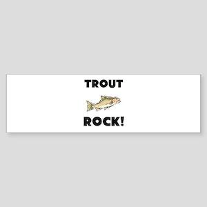 Trout Rock! Bumper Sticker