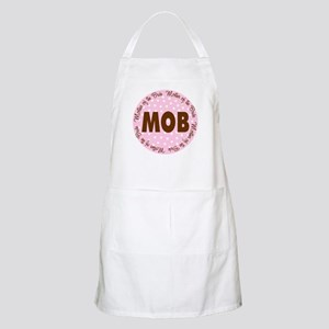 Polka Dot Bride's Mother BBQ Apron