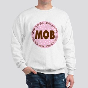 Polka Dot Bride's Mother Sweatshirt