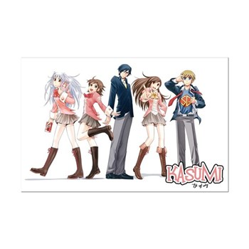 Kasumi Friends Mini Poster
