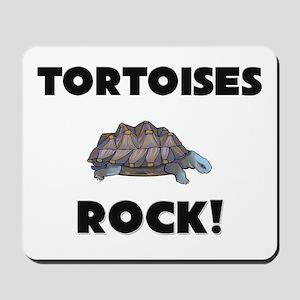 Tortoises Rock! Mousepad