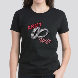 Army Wife Women's Dark T-Shirt