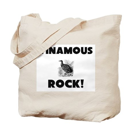 Tinamous Rock! Tote Bag
