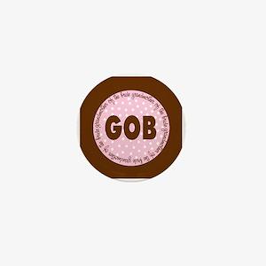Polka Dot Bride's Grandmother Mini Button