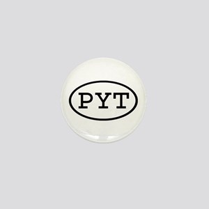 PYT Oval Mini Button