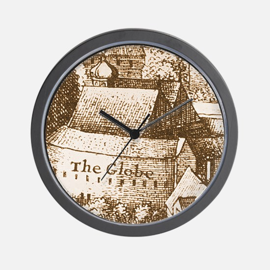The Globe Theatre Wall Clock