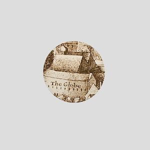 The Globe Theatre Mini Button