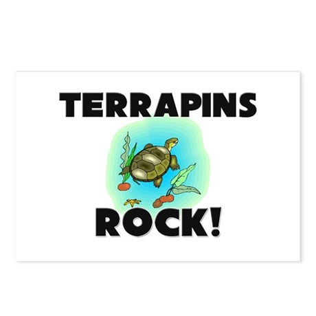 Terrapins Rock! Postcards (Package of 8)