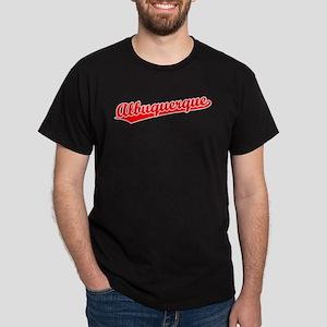 Retro Albuquerque (Red) Dark T-Shirt