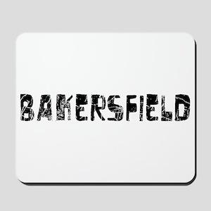 Bakersfield Faded (Black) Mousepad