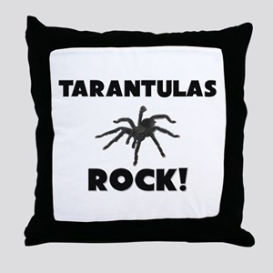 Tarantulas Rock! Throw Pillow