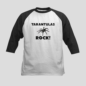 Tarantulas Rock! Kids Baseball Jersey