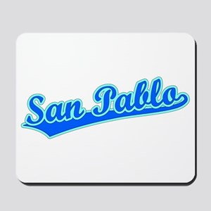 Retro San Pablo (Blue) Mousepad