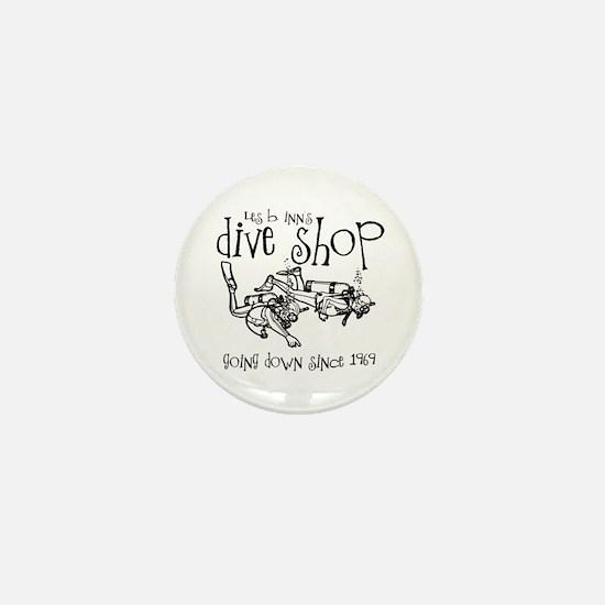 Dive Shop Mini Button