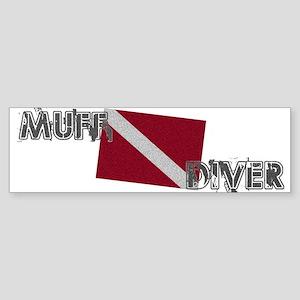 Muff Diver Bumper Sticker