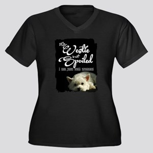 Spoiled? Never! Plus Size T-Shirt