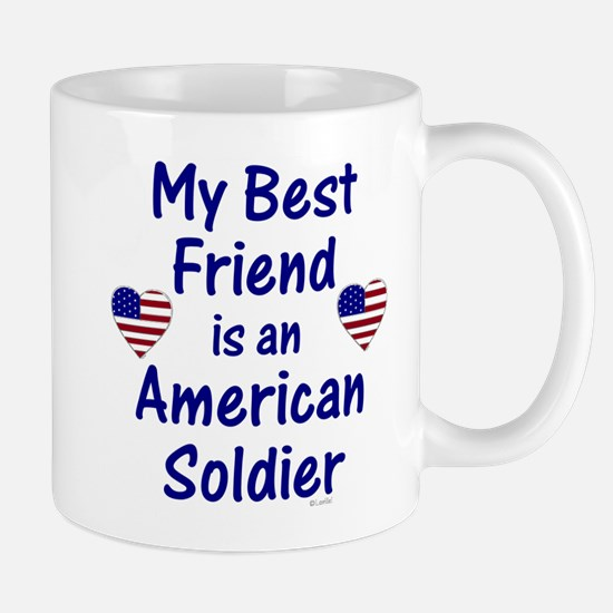 Best Friend/Soldier Mug