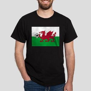Wales Football Dark T-Shirt