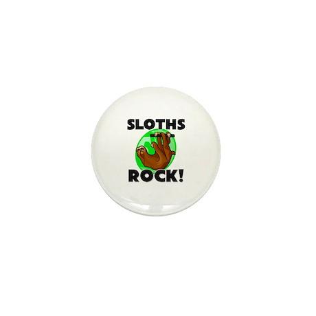 Sloths Rock! Mini Button