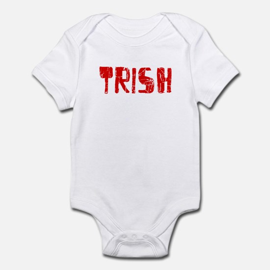 Trish Faded (Red) Infant Bodysuit