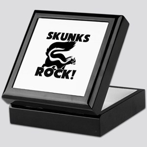 Skunks Rock! Keepsake Box