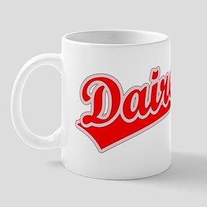 Retro Dairen (Red) Mug