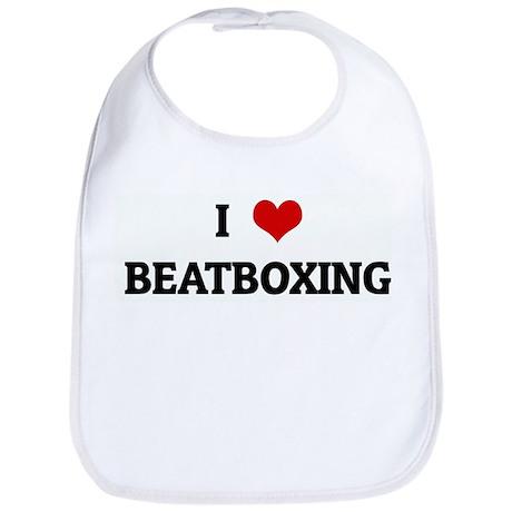 I Love BEATBOXING Bib