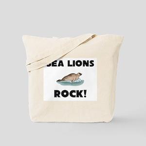 Sea Lions Rock! Tote Bag