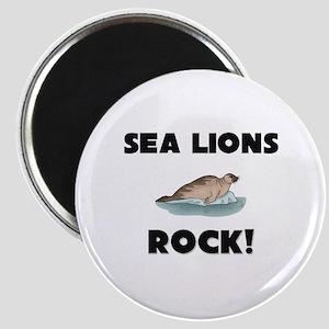 Sea Lions Rock! Magnet