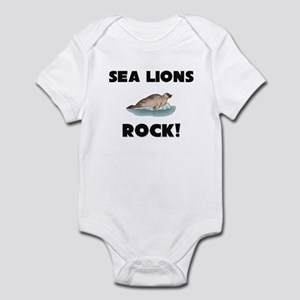 Sea Lions Rock! Infant Bodysuit