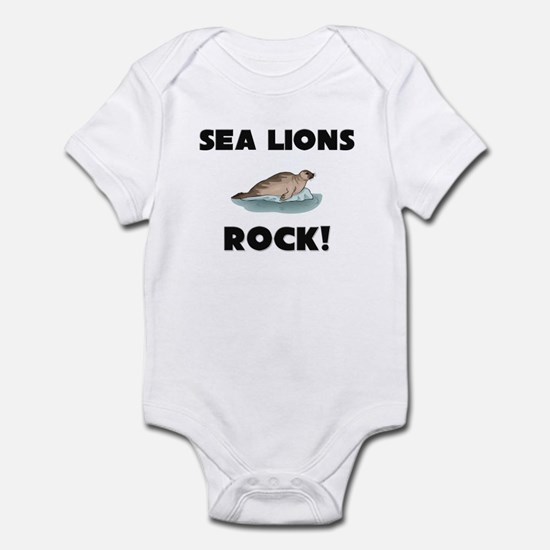 Sea Lions Rock! Infant Bodysuit