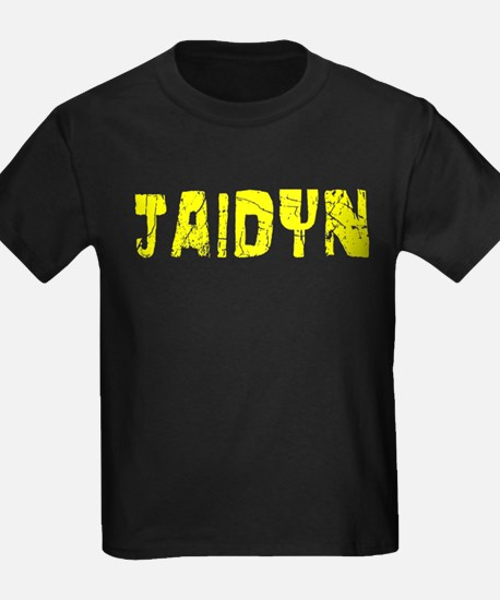Jaidyn Faded (Gold) T