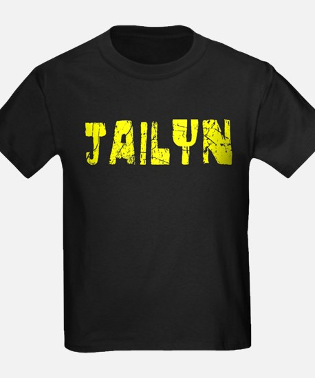 Jailyn Faded (Gold) T